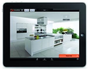 Domotica voor in huis of op kantoor for Keuken ontwerpen op ipad